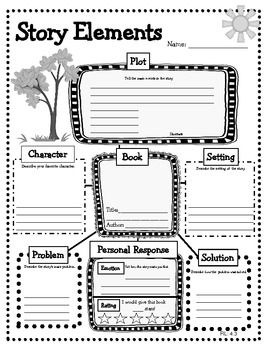 Reading Graphic Organizers Reading Literature Grades 3 5