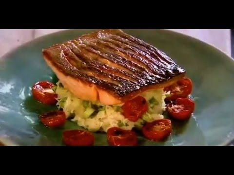 Gordon Ramsay Crispy Salmon - YouTube - video