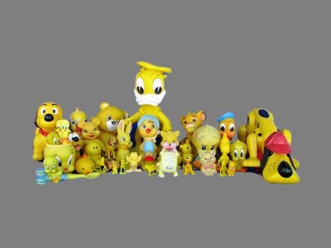 Brinquedos antigos.