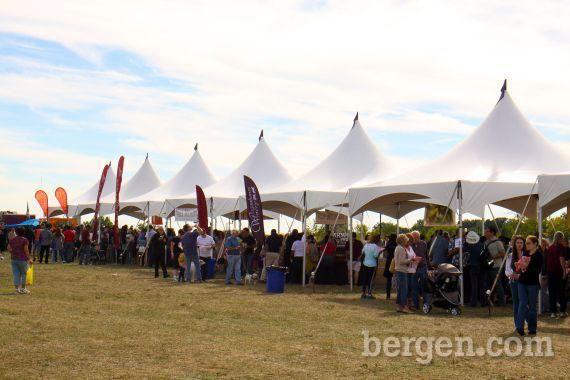 Jersey Skyline Wine Fest at Overpeck Park (Photo by Paula