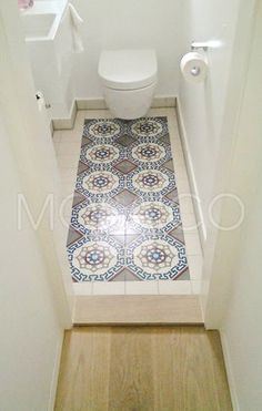 Photo of Cement tiles from Mosaico in Cologne: cement tile gallery – guest toilet