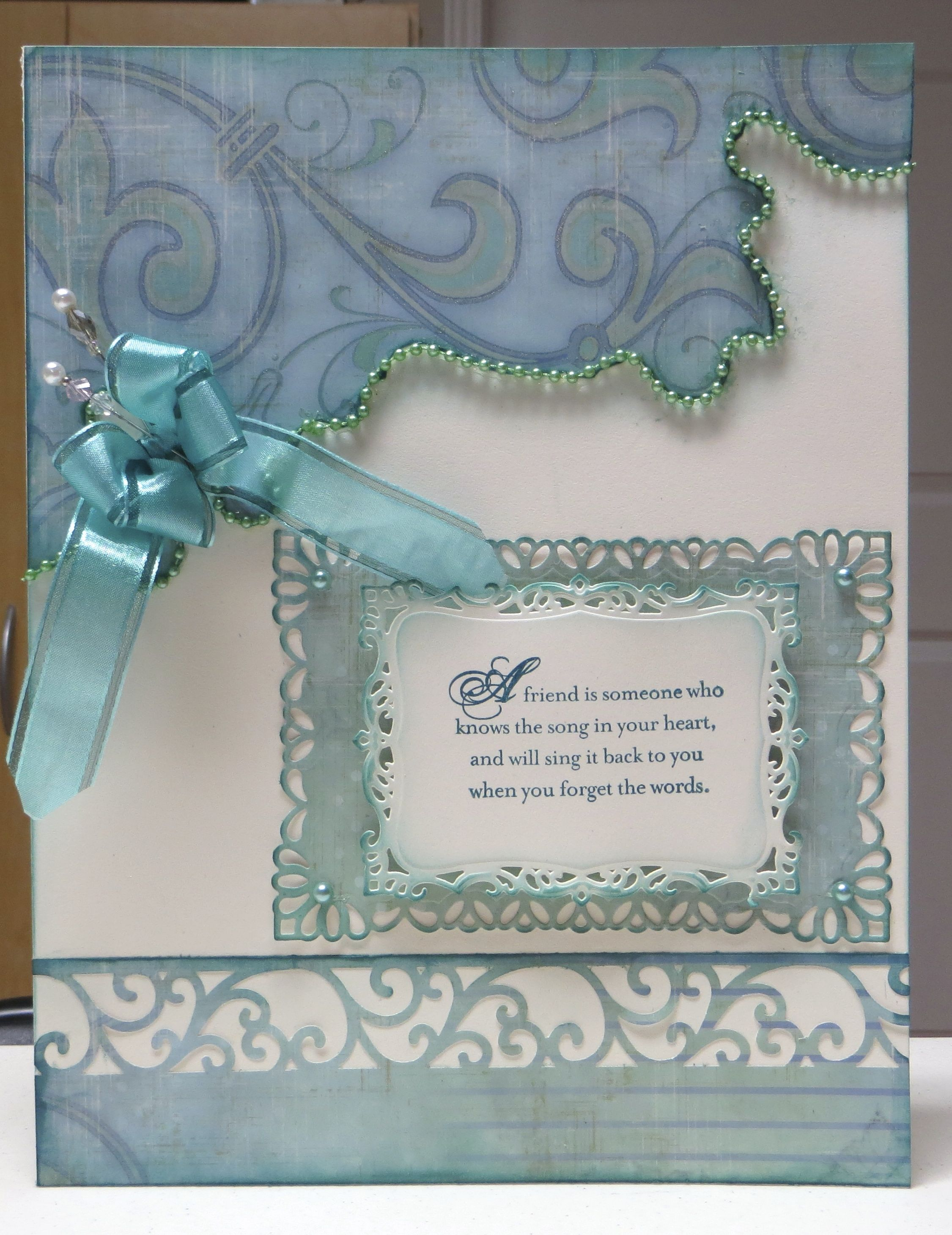 A 8x10 Farewell Card For Group Signing Handmade Invitation Cards