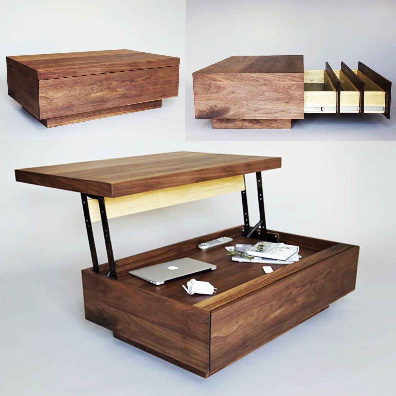Cabriolet coffee table Multipurpose furniture, Furniture
