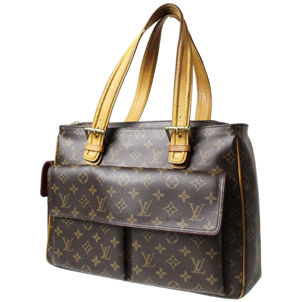 Authentic Louis Vuitton Multipli Cite Shoulder Monogram France Bag