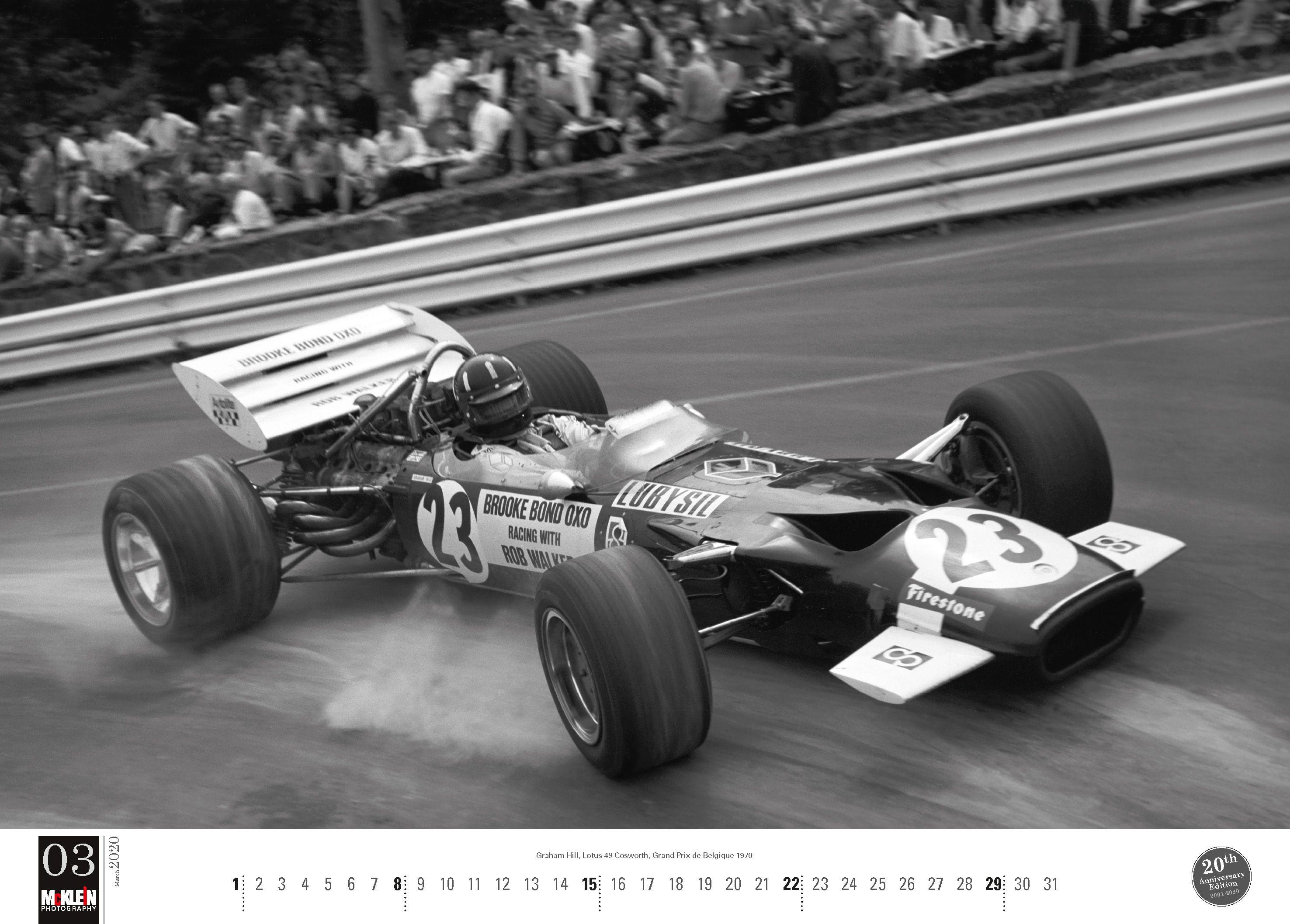 Motorsport Classic 2020 (Calendrier McKlein) en 2020