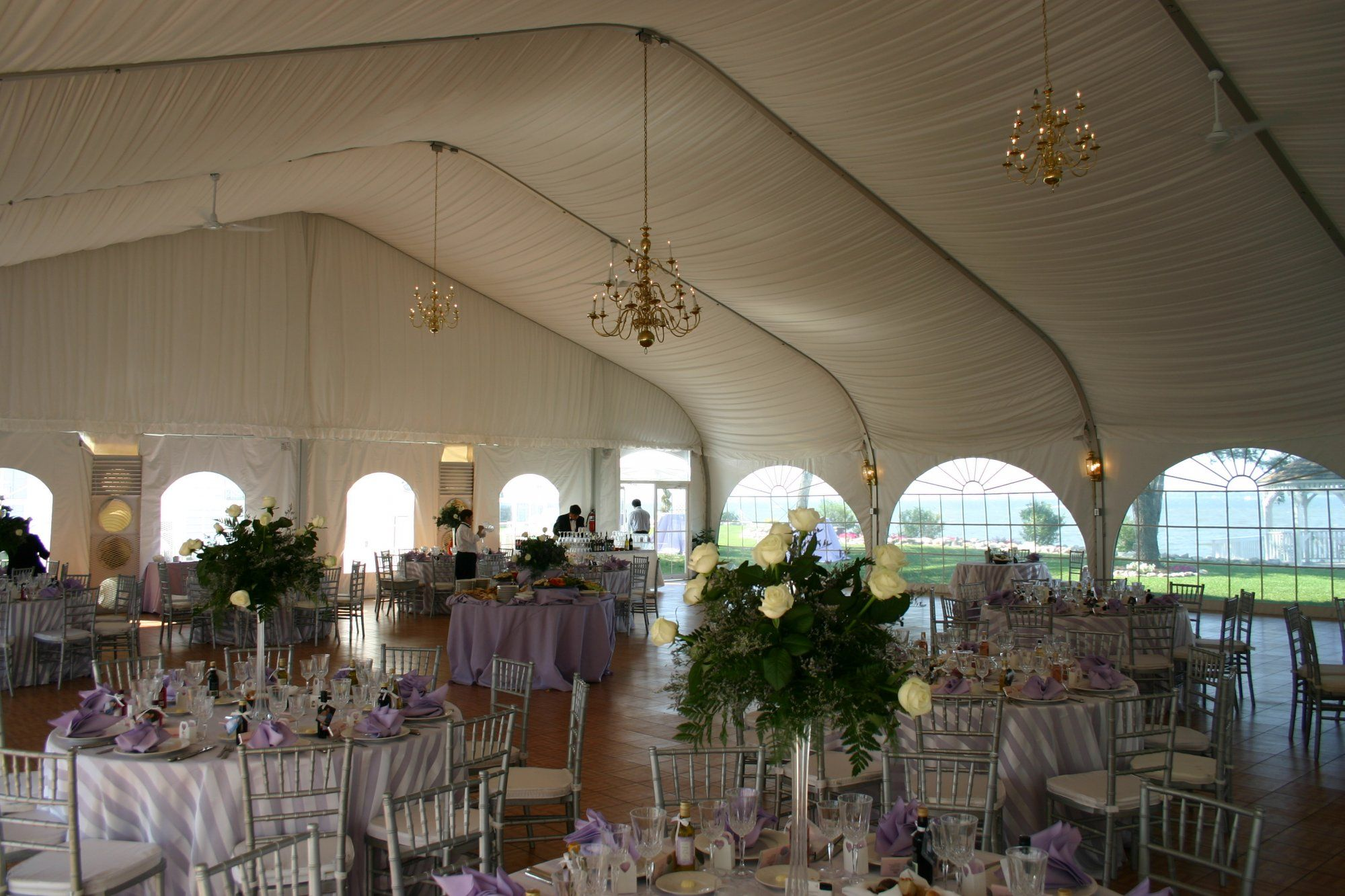 Celebrations At The Bay Centerpiece 3 Maryland Wedding Venues