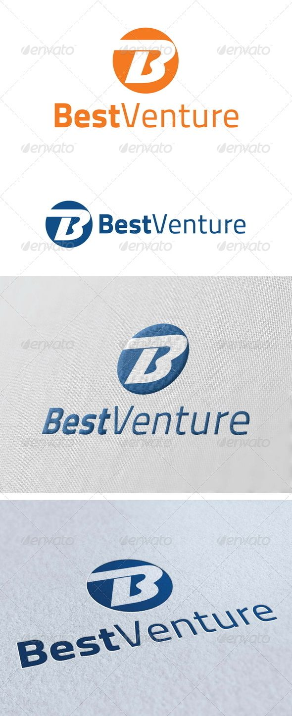 Best Venture Logo Template GraphicRiver Re sizable Vector