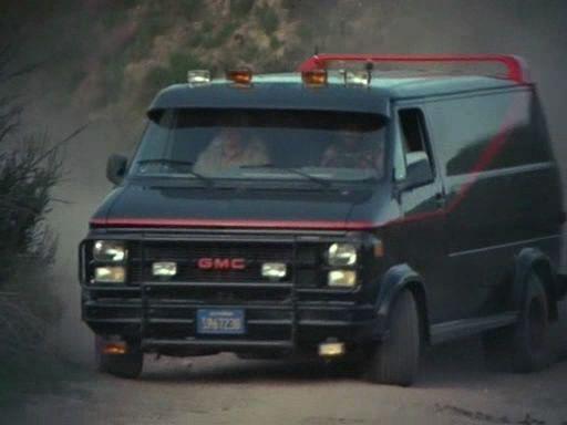 Gmc Vandura A Team Van Tv Cars A Team Van Cars Movie