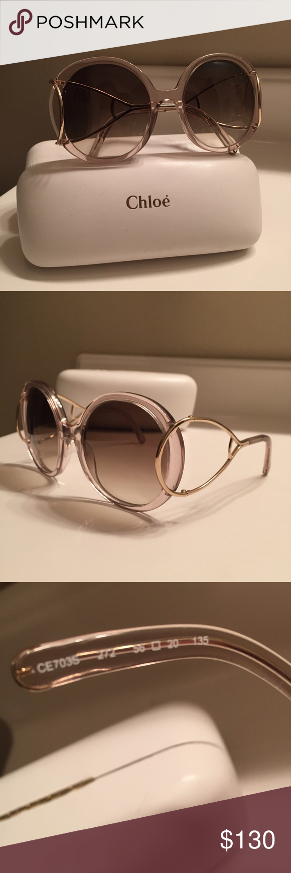 34bd097d71c7 Chloe CE703 women s sunglasses New store display women s Chloe ce703  sunglasses in perfect condition. Case is currently available. Chloe  Accessories ...