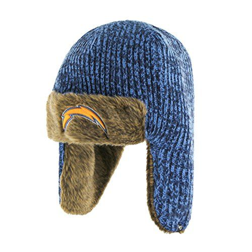 251724fe9912a8 NFL San Diego Chargers 47 Orca Sherpa Knit Beanie One Size Blue Raz >>> Be  sure to check out this awesome product.