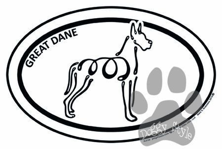 Great Dane Euro Style K Line Magnet