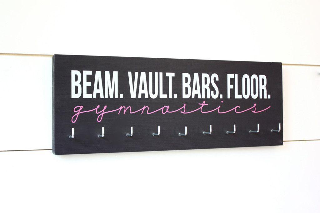 Gymnast Medal Holder Display Beam Vault Bar Floor Gymnastics