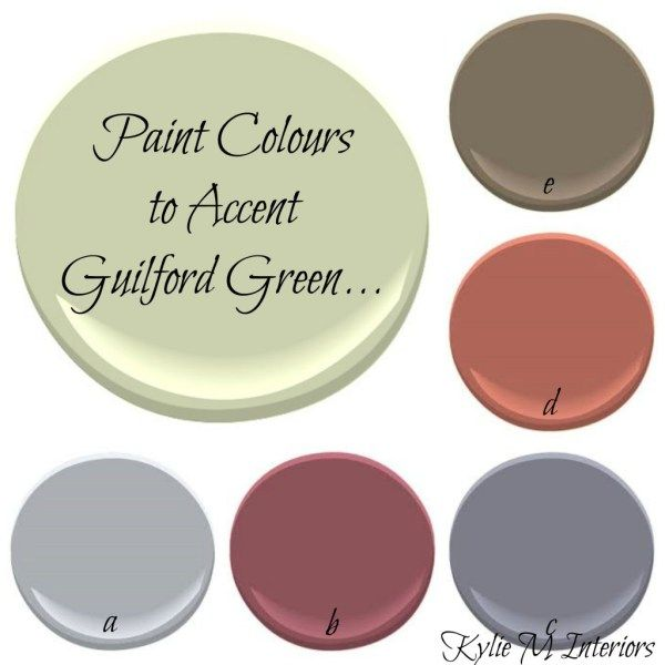 Best Benjamin Moore Color To Use As An Accent Wall: The Best Benjamin Moore Paint Colours To Accent Guilford