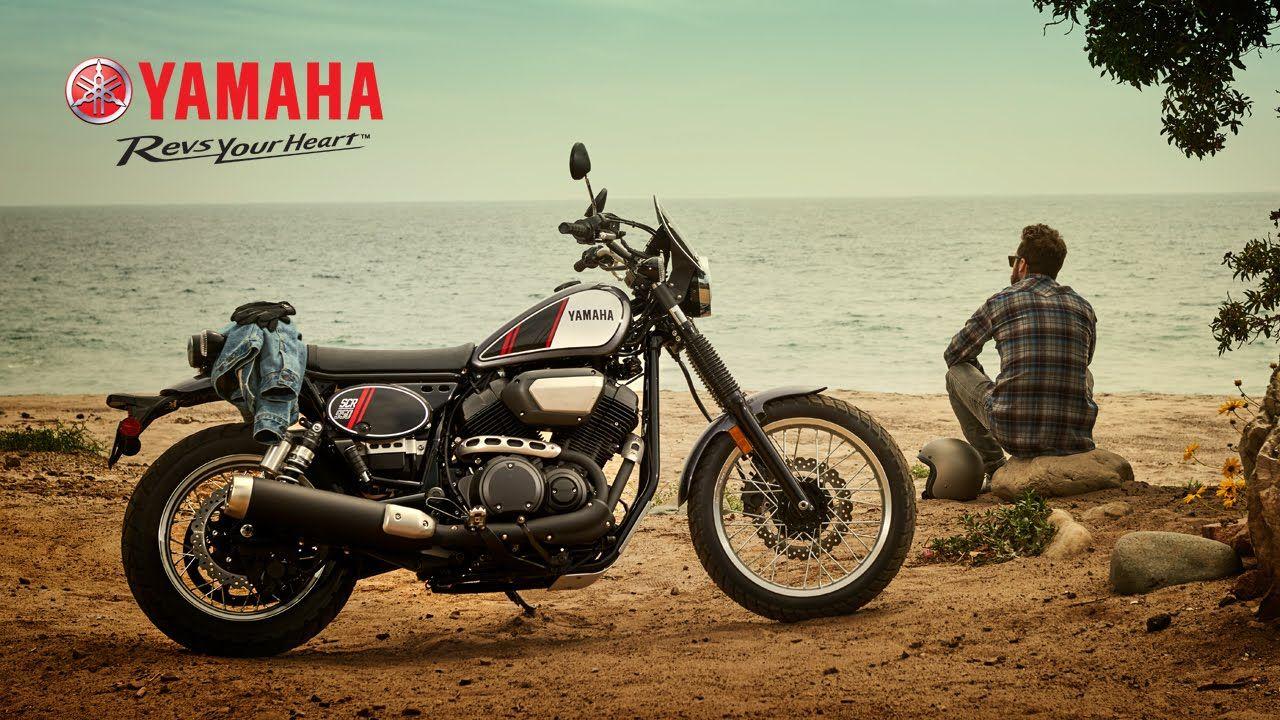 Yamaha SCR 950 resgata o passado Motocicletas Pinterest