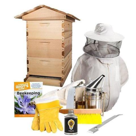 Cedar Langstroth Starter Kit (Medium Boxes) | Bee keeping ...