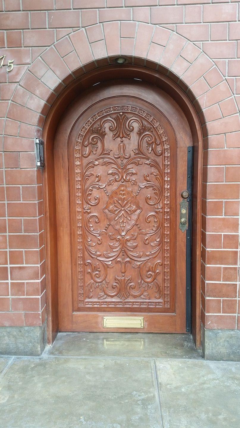 puertas de madera para exteriores nuevos materiales puerta de madera ...