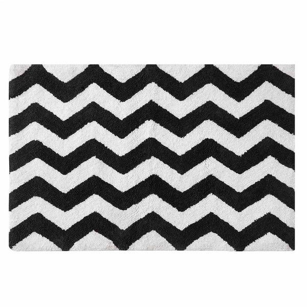 Intelligent Design Kelsey Cotton Bath Rug Liked On - Bathroom rugs online for bathroom decorating ideas