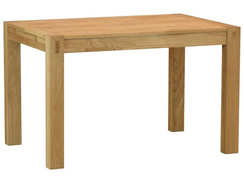Table rectangulaire 120 cm (allonge en option)