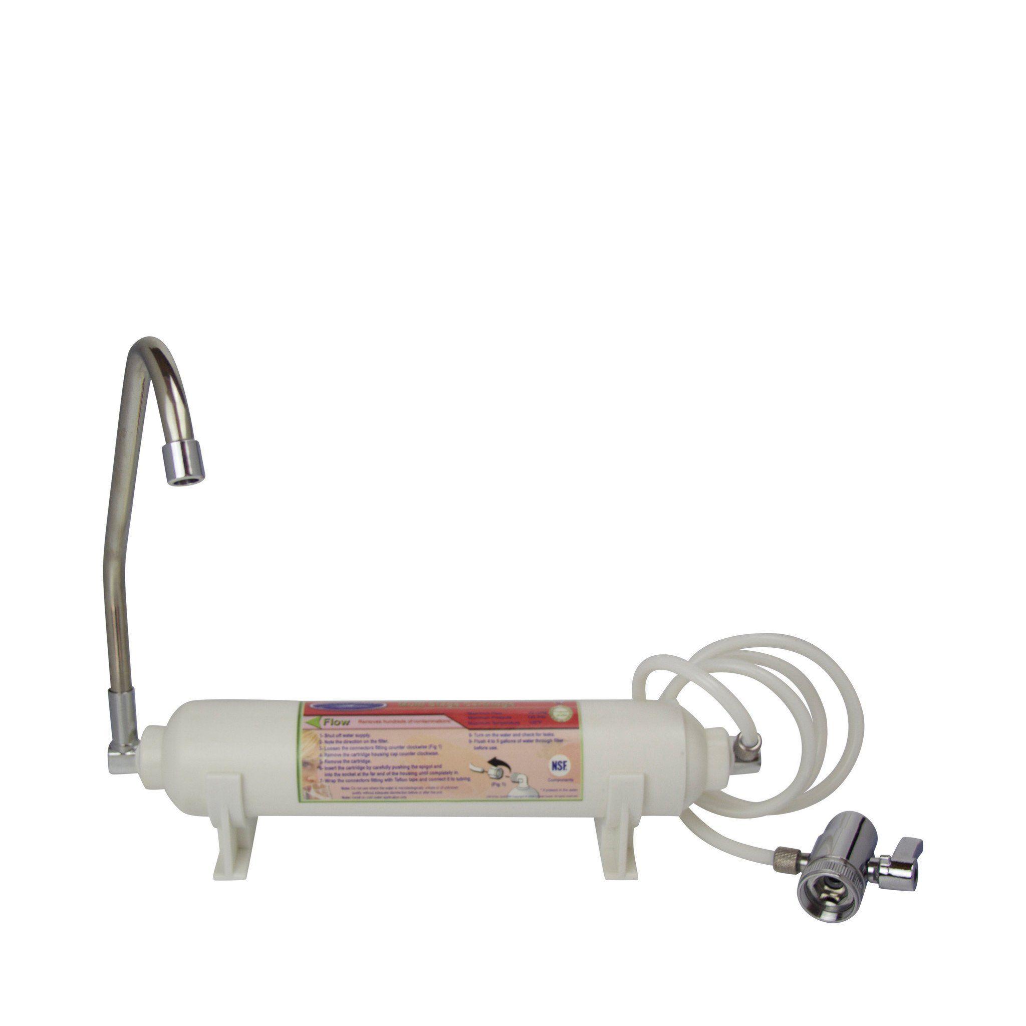 Mini Disposable Countertop Water Filter System Countertop Water