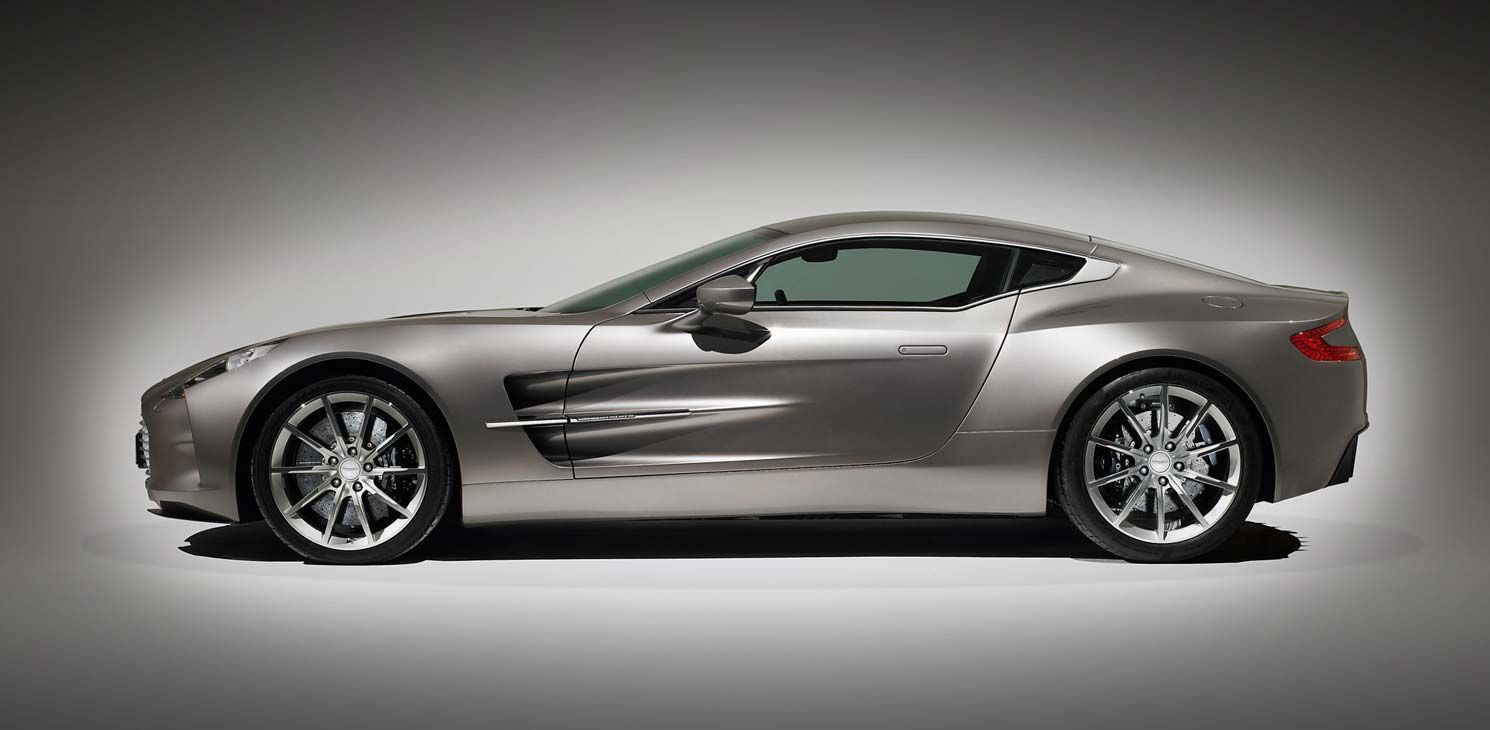 Aston Martin One Is The Limited Edition Twodoor Coupe Produced - Aston martin two door