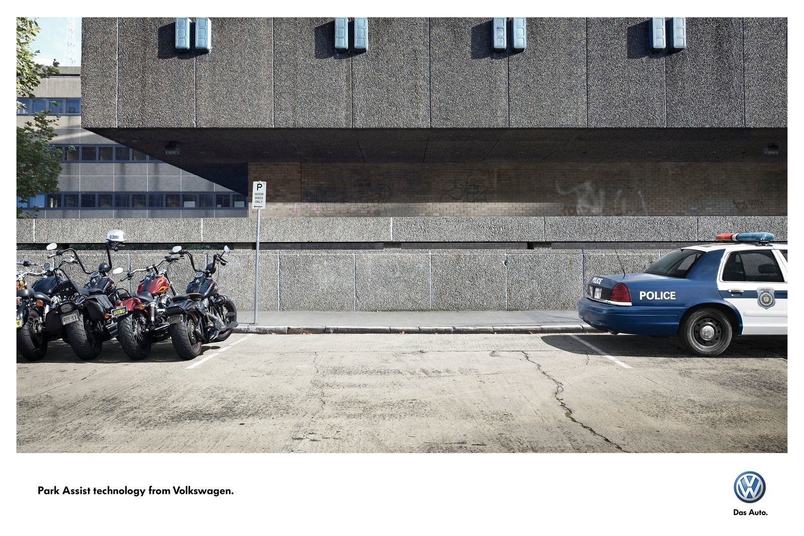 VW calls for a perfect park.
