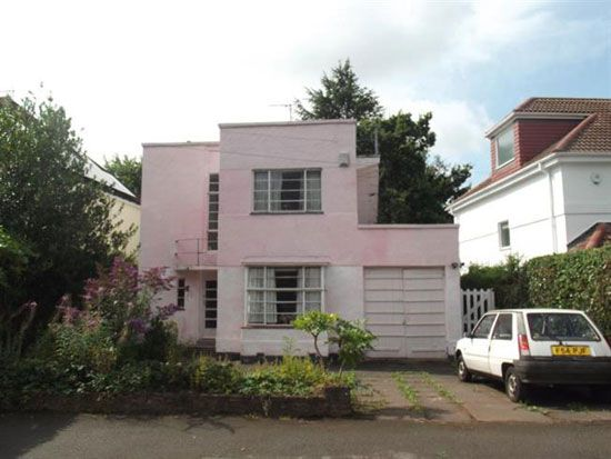 in need of renovation 1930s art deco property in wollaton vale