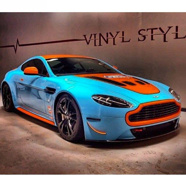 Gulf Racing Aston Martin Vantage