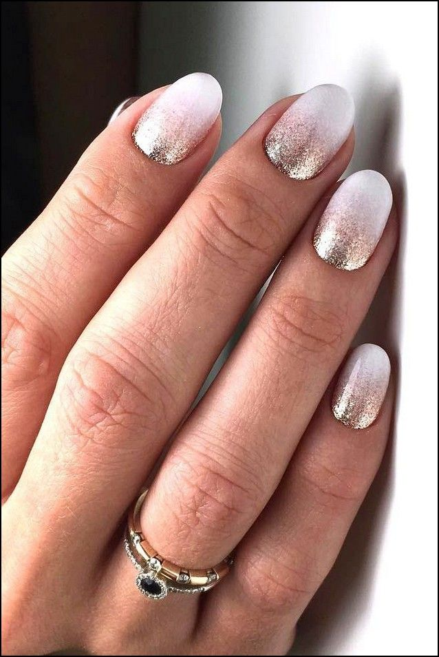 103 Outstanding Bridal Nails Art Designs Ideas 2019 2020 Page 30 Myblogika Com Ombre Nails Glitter Ombre Nail Designs Ombre Gel Nails