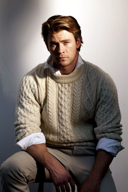 Chris Hemsworth....Absolutely perfect....