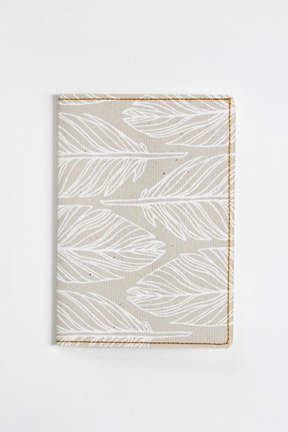 Image of S. Travel Wallet - White Feather