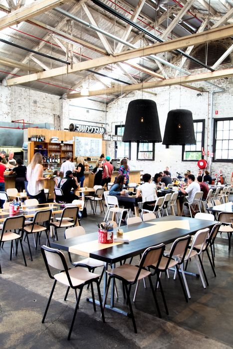 Large tables setup at Kitchen By Mike | Cafe Ideas | Food