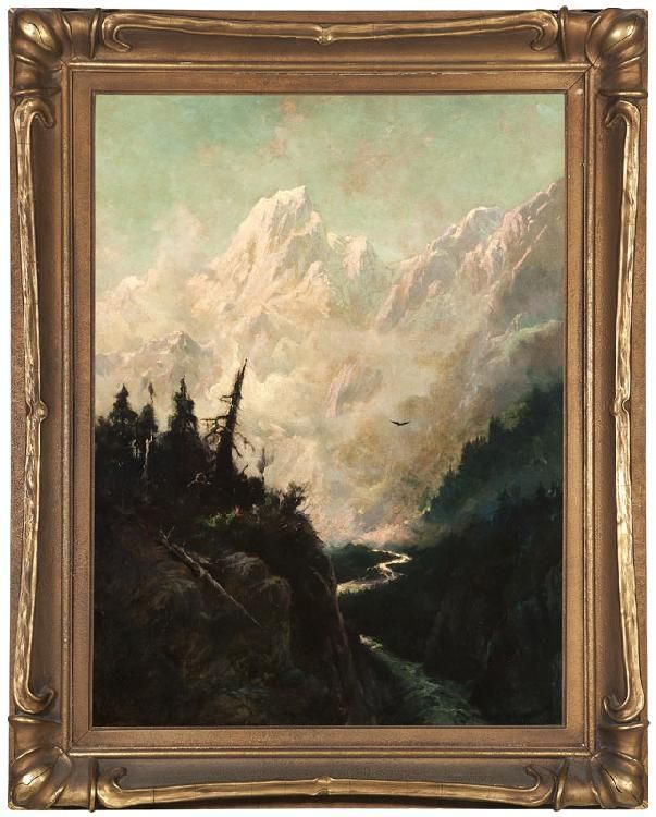 Sydney Laurence 1865 1940 Anchorage Ak I Love This Frame This