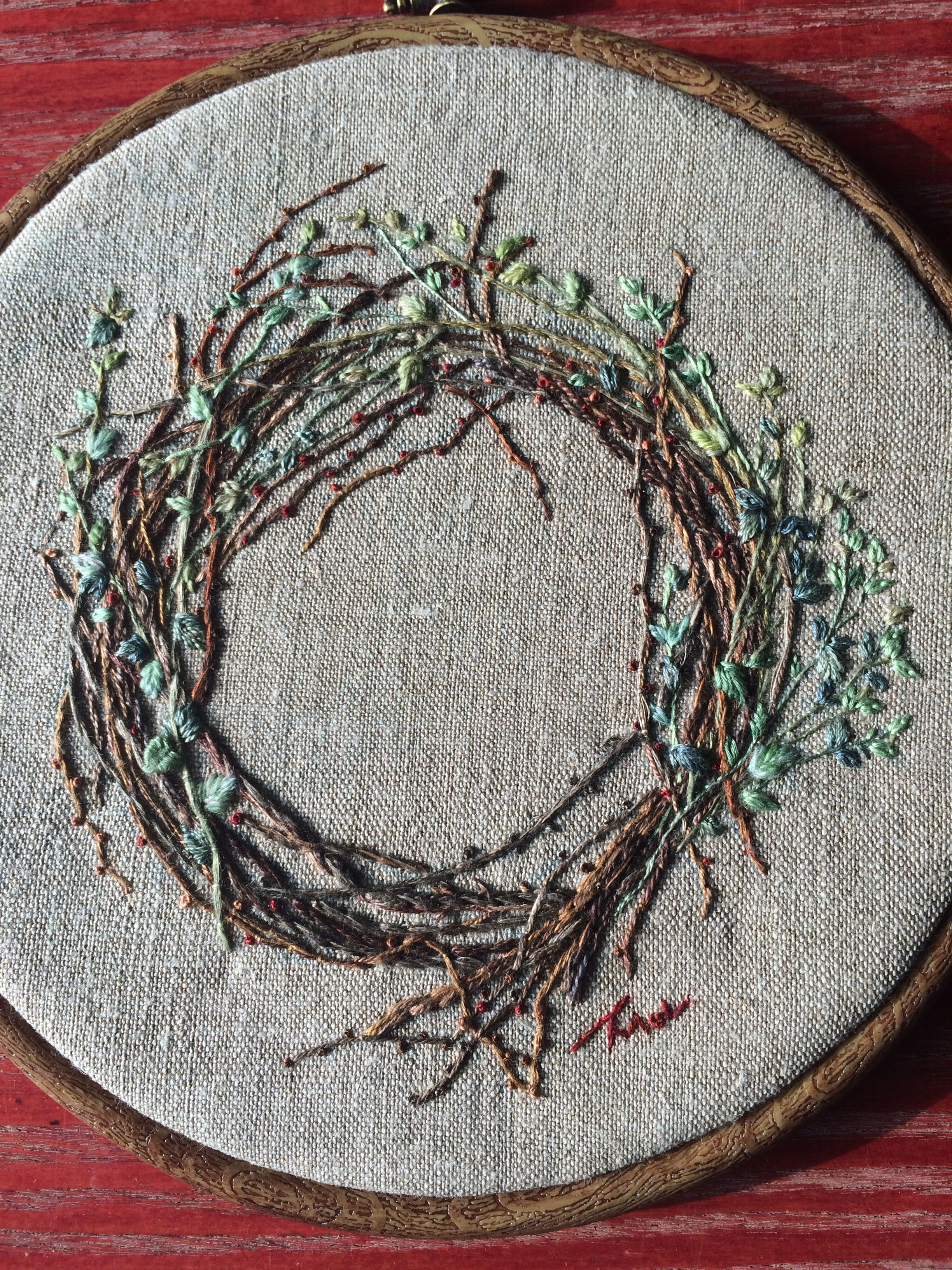 Pin By Home Decornaiveneedle Hand Embroidery Patterns On Hand