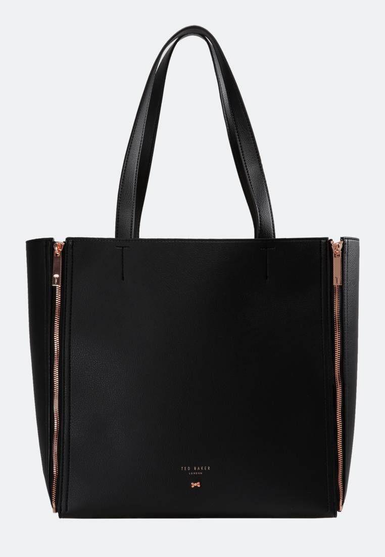 fe8ca9b7b2f87 Ted Baker. ZIPPI INTERCHANGEABLE PANEL SHOPPER - Handbag - black.  Pattern plain.