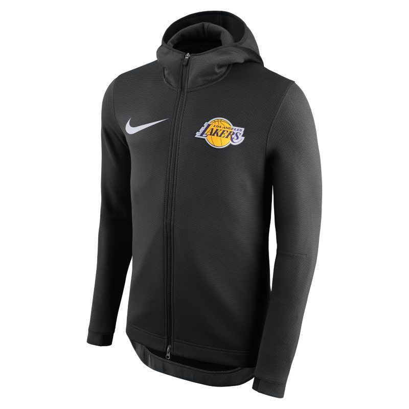 quite nice new design save up to 80% Los Angeles Lakers Nike Therma Flex Showtime Men's NBA ...