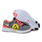 size 40 cc62c b99da Nike Free Run 2 dam s löparskor Grå Vit-Cool Grå-Bright Mango