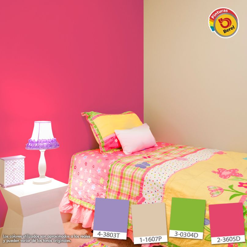 Colores para habitaciones juveniles decoracion hogar - Pinturas para habitaciones juveniles ...