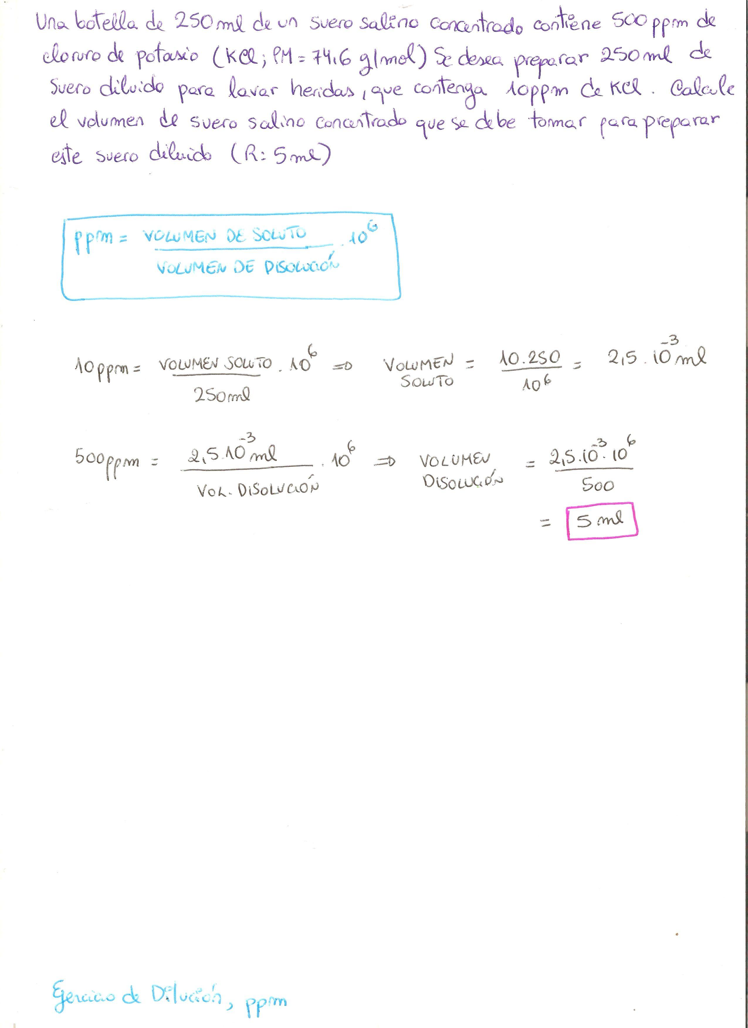 ejercicios de disoluciones quimicas resueltos pdf