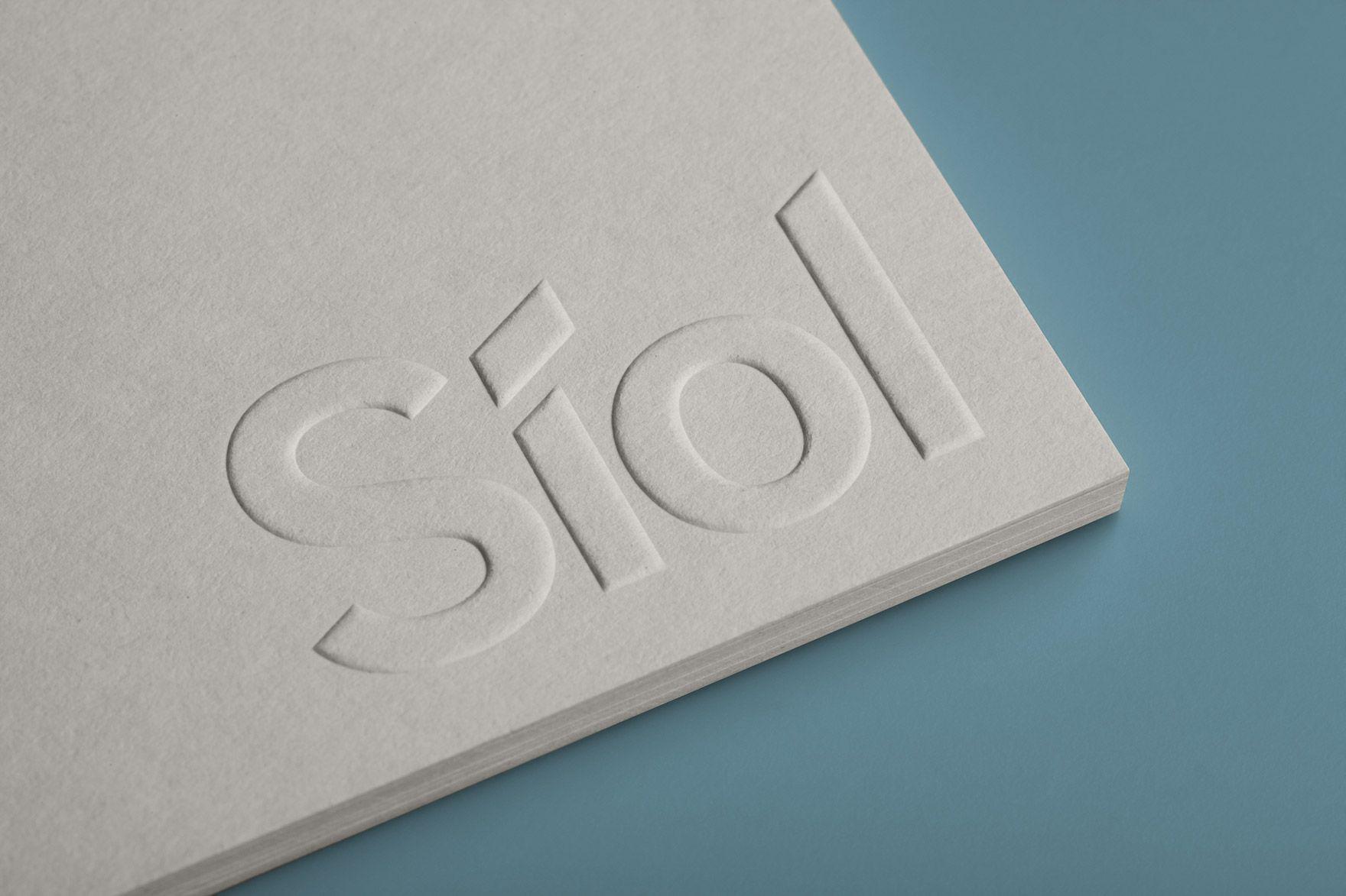 síol pinterest stationary printed materials and logo branding