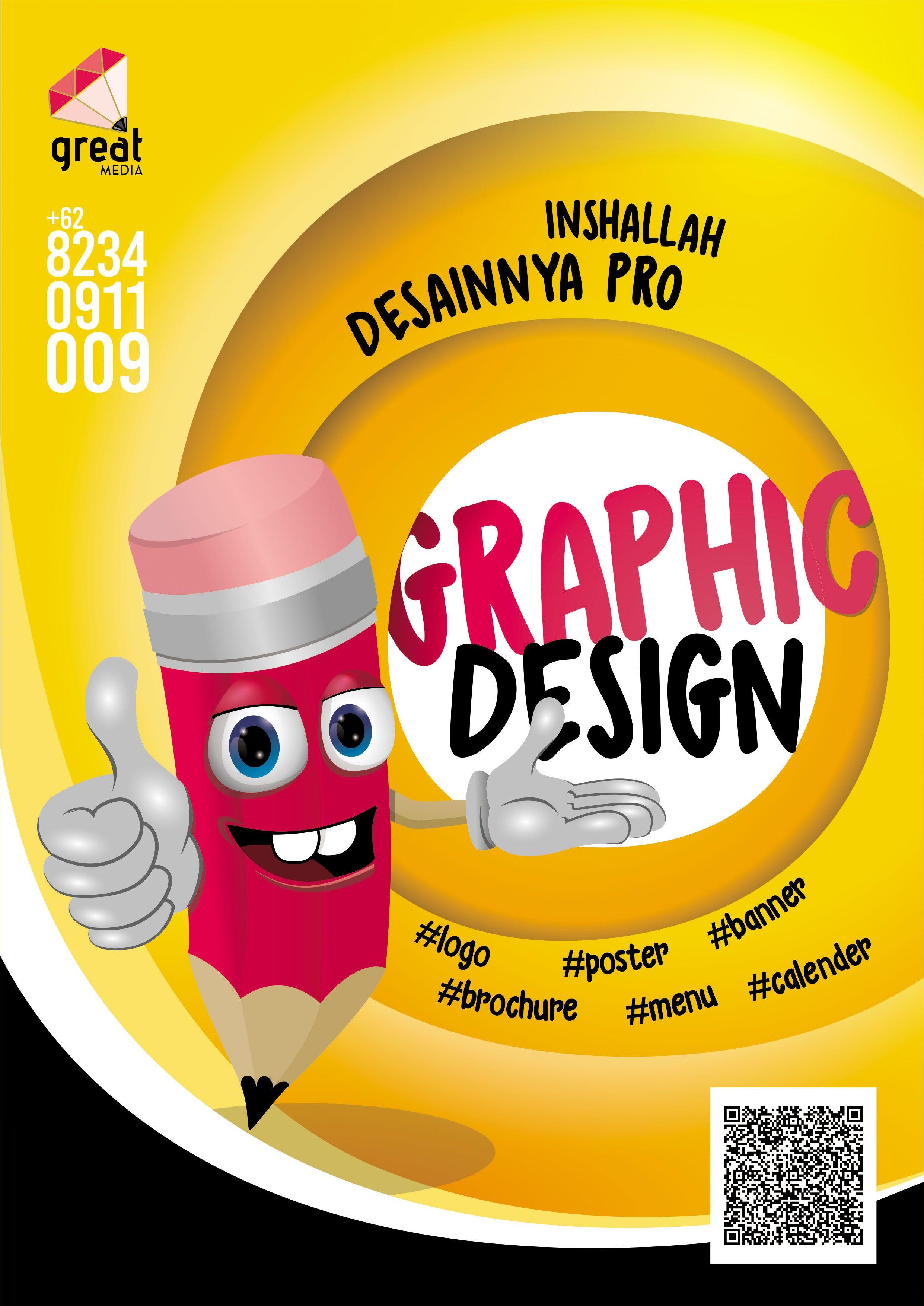 Poster Desain Grafis Open Order Desain Banner Spanduk Desain