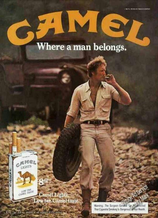 Camel Cigarette Vintage Ad Poster Cigarette Collection