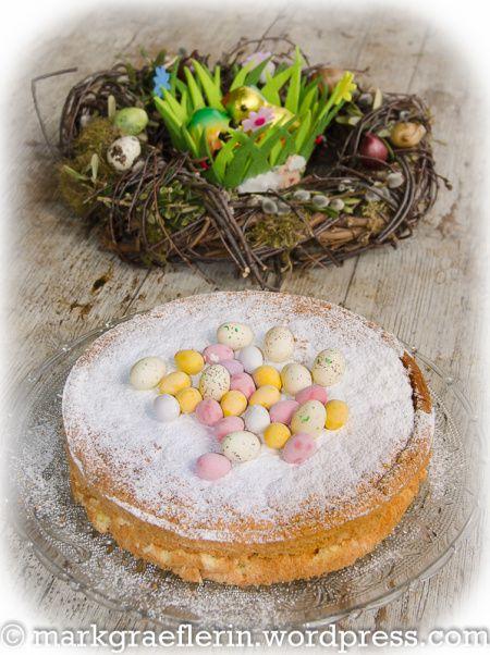 Lemon Sponge Cake Ostern 2