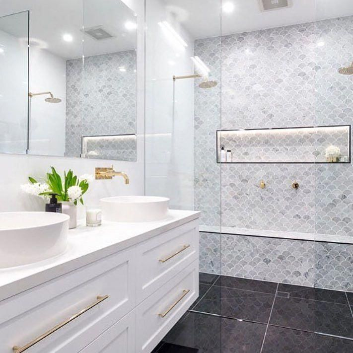 Photo of Great looking #tiles and fantastic #shower space in the #bathroom from… #Decor…