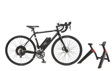 This Ebike Conversion Kit Has A 100 Mile Range And Doubles As An Indoor Trainer Indoor Trainer Bike Electric Bike