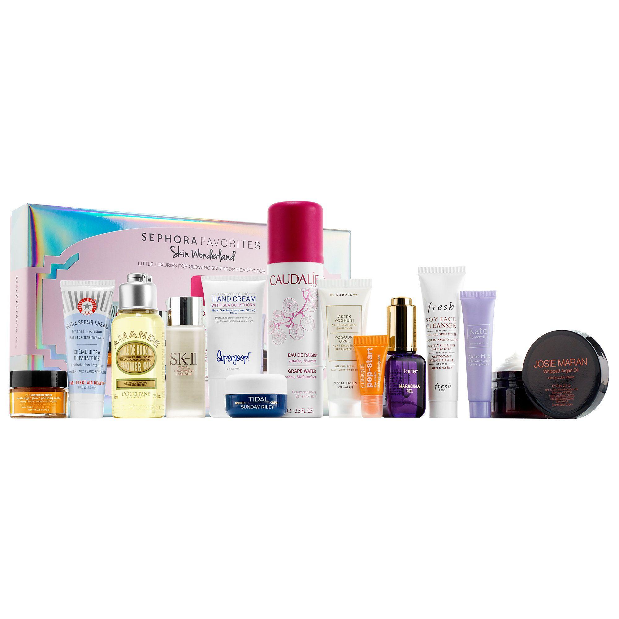 Shop Sephora Favoritesu Skin Wonderland at Sephora This curated set