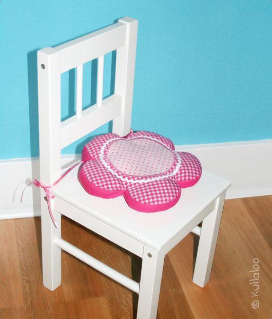 Ikea Kinderstühle selber nähen eines blume sitzkissens für ikea kinderstuhl