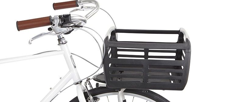 A Bike Basket From Thule Mounts Securely To The Front Or Rear