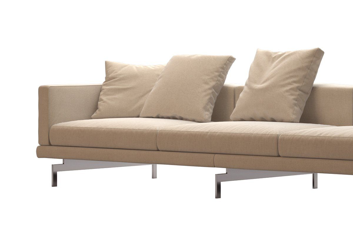 Dock Sofa By B B Italia 295x99 In 2020 Sofa B B Italia Love Seat