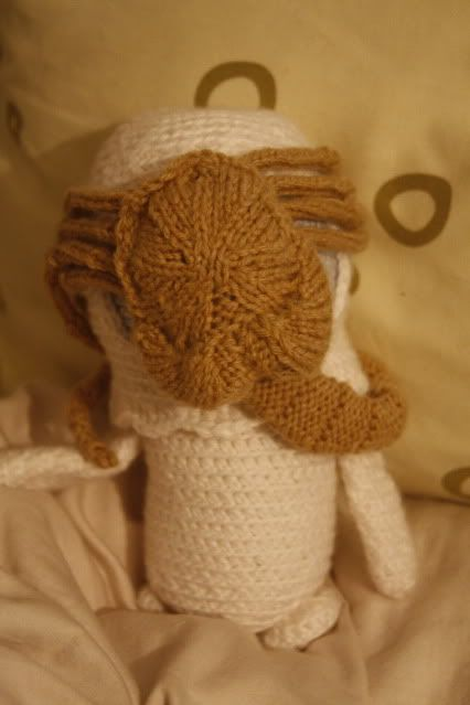 Knit Alien Face Hugger With Pattern And Too Many Pictures