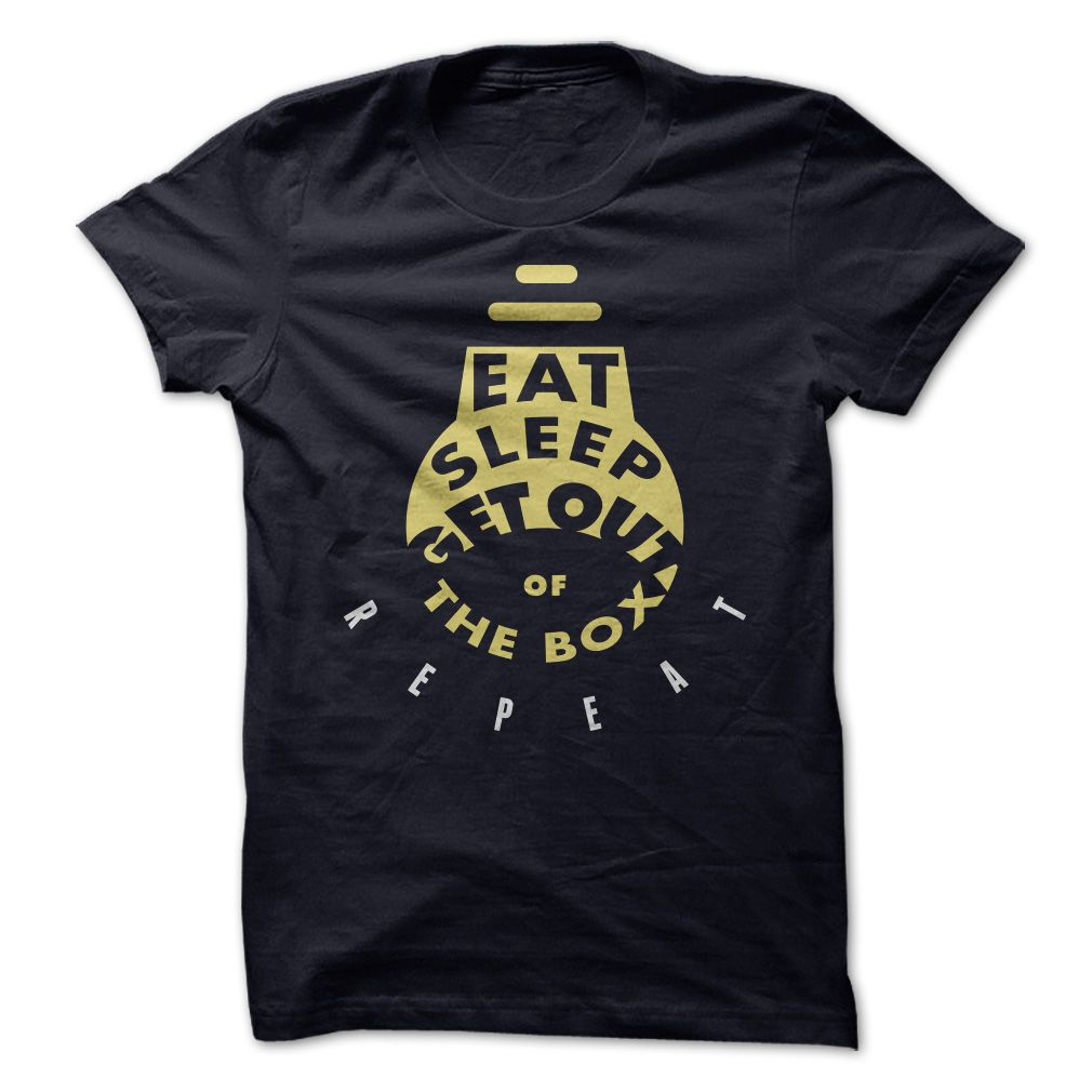 Eat. Sleep. Think Different. - If you are the one that has a out of box thinking, this shirt if for you.